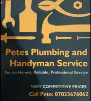 Pete's Plumbing and Handyman Service